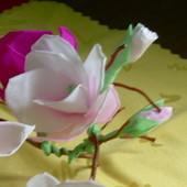 magnolia z bibuły