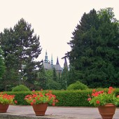 Praga - Ogrody królewskie.