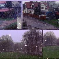 Padał śnieg!