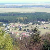 Widok z góry Rowokół