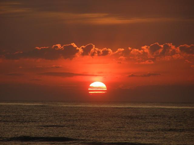 Kołobrzeski zachód słońca 09-2009