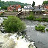 W miasteczku Langollen w Walii