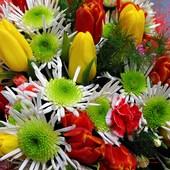 Kwiatuszki dla wszystkich naszych Pań Galerniczek