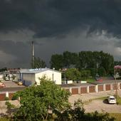 groźne chmury