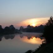 Rzeka Warta o godz.4.00