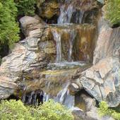 Ogrodowy wodospad