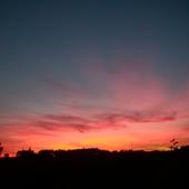 Dzisiejszy zachód słońca, wszystkim spokojnej nocy :)