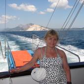 W drodze na wyspę Skiatos( Grecja)