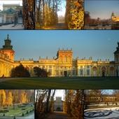 Listopadowy spacerek w Wilanowie...