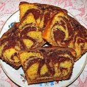 Ciasto serowo nutellowe
