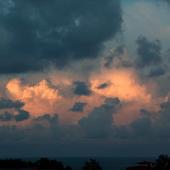 Co wygra, słońce , czy deszcz ? Przed wieczorem