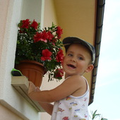 moje kwiatuszki:)