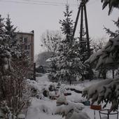 Wczoraj było biało i ok. 10 cm śniegu...