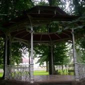 Altanka w parku od 30 lat niezmieniona