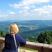 Widok z Jaworzyny Krynickiej jest cudowny....