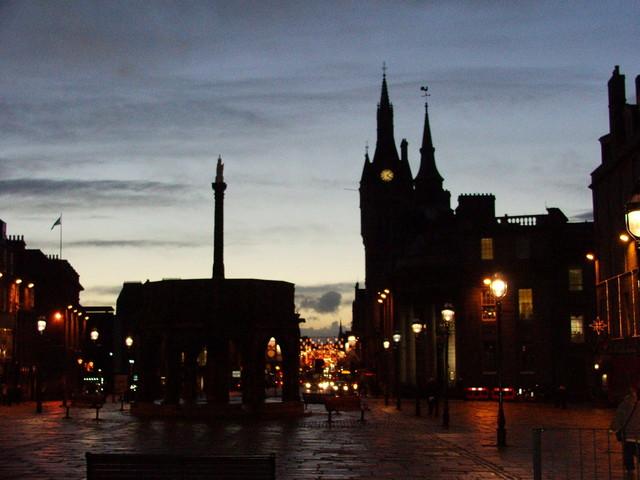 Aberdeen by night