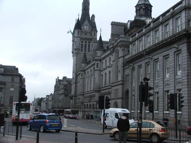 Aberdeen, granitowe miasto