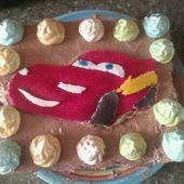 Tort gotowy i już prawie cały zjedzony