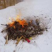 Marzanna spalona a wiosny nie widać
