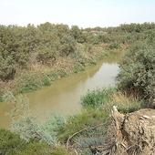 Pierwotne koryto rzeki Jordan /Jordania/