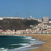Plaża w Nazare /Portugalia/