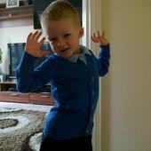 Moj uczniaczek :)