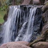wodospad w parku