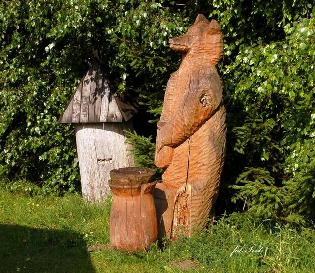 rzeźba kurpiowska