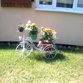 Kwietnik z rowerka