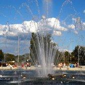 fontanna z lodami