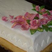 Lilie i róże
