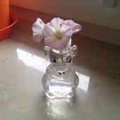 myszka z kwiatową fryzurą