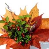Jesienny bukiecik.