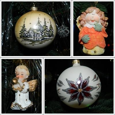 Choinkowe ozdoby:)Pozdrawiam świątecznie.