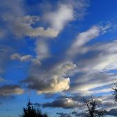 Niebo w grudniu 2013.