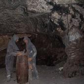Głęboko pod ziemią też można spotkać figurki :)