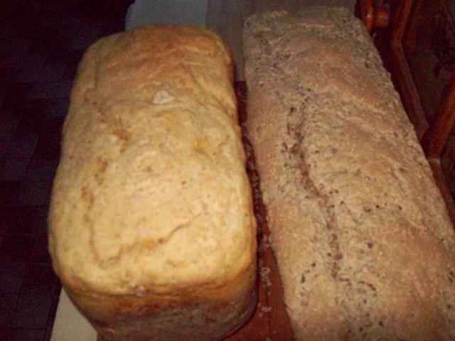 chleb pszenny i żytni
