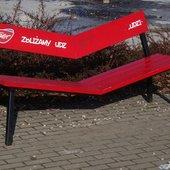 ławeczka w parku