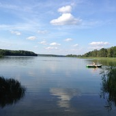 Nad jeziorem Wadąg