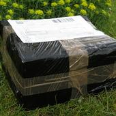 Czarna skrzynka:))uwielbiam takie przesyłki:))