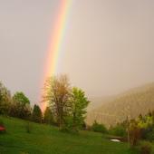 Farba leje się z nieba :)