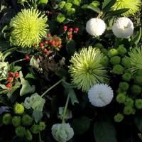 Wiązanka kwiatów na 1 listopada