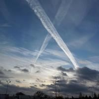 Niedzielne niebo nad Gorczynem