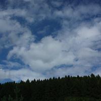 Chmurki i błękit nieba ;)