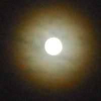 #Na Dobranoc-Zaćmienie Księżyca...,