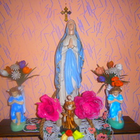 sentymentalny kącik z Matką Bożą