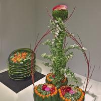 Świąteczna ikebana