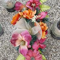 kolene sztuczne kwiaty....