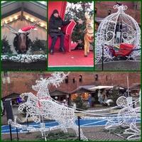 Gdańsk Stare miasto w świątecznej szacie....