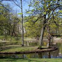 Dzisiaj odpoczywałem w tym parku